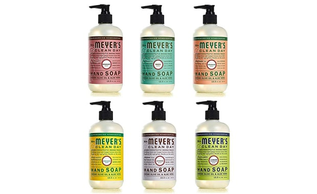 Mrs. Meyer's Clean-Day Liquid Hand Soap (Six Pack)