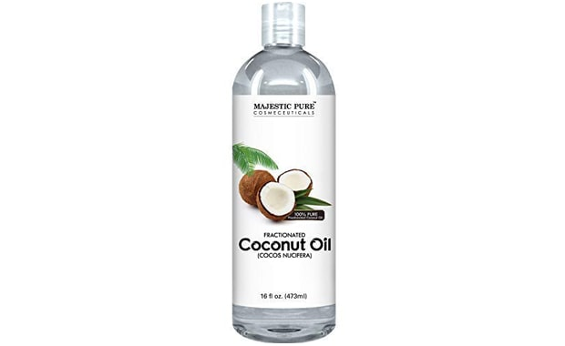 Majestic Pure Fractionated Coconut Massage Oil