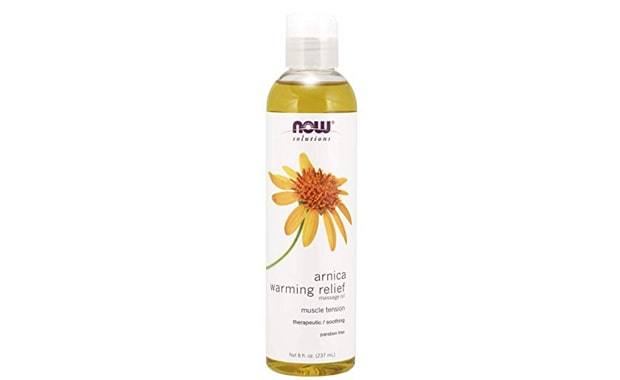 NOW Solutions Amica Warming Relief Massage Oil