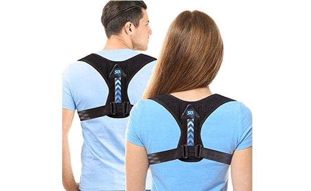 SR SUN ROOM Adjustable Posture Corrector for Men and Women