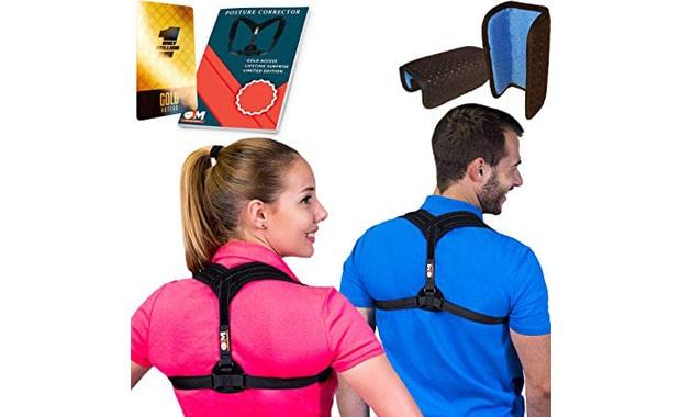BPC Utilites Back Straightener Posture Corrector for Women & Men