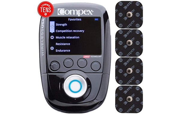 Compex Wireless 2.0 Muscle Stimulator with TENS unit