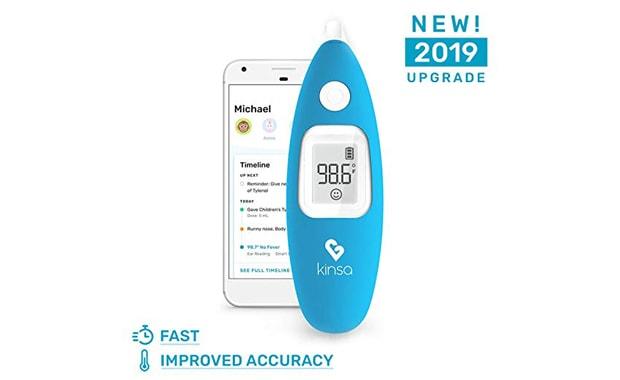 Kinsa Smart Ear Digital Baby Thermometer