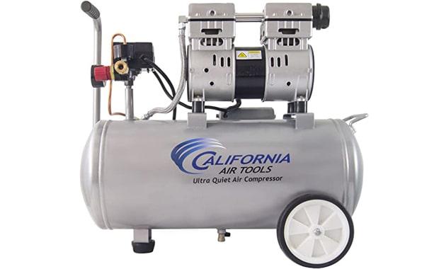 California Air Tools 8010 1.0 hp Steel Tank Air Compressor