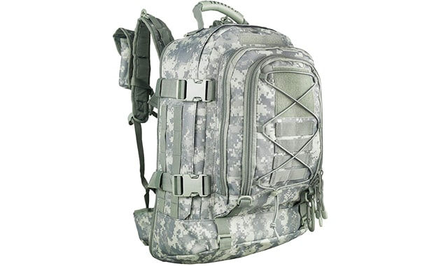 PANS Backpack Military Expandable Large Travel Backpack