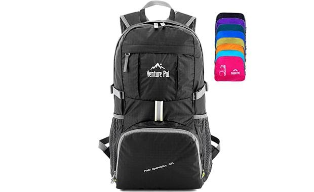 Venture Pal Packable 40L Waterproof Hiking Travel Backpack