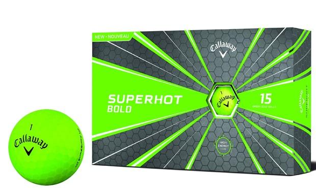 Callaway Golf Superhot Bold Matte Golf Balls