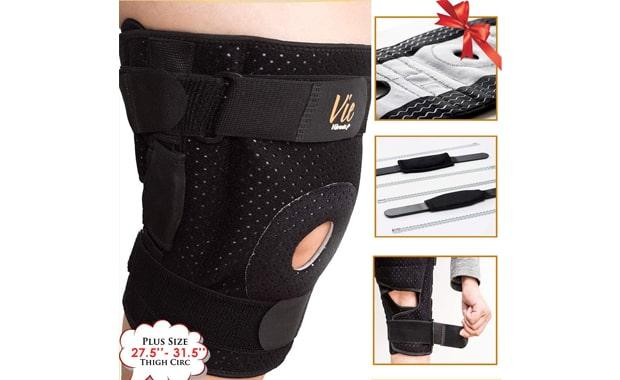 VieVibrante Hinged Knee Brace Plus Size