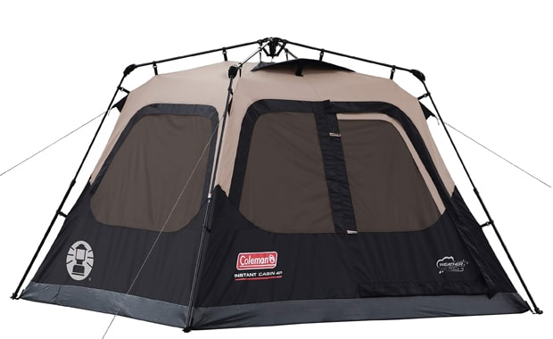 Coleman Cabin Camping Tent with 60 Seconds Instant Setup