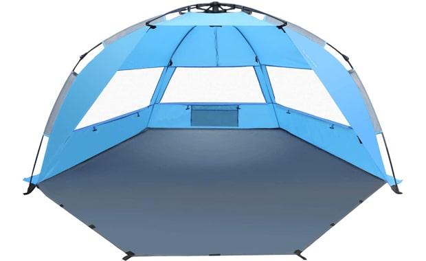TAGVO Beach Pop Up Sun Shelter Tent