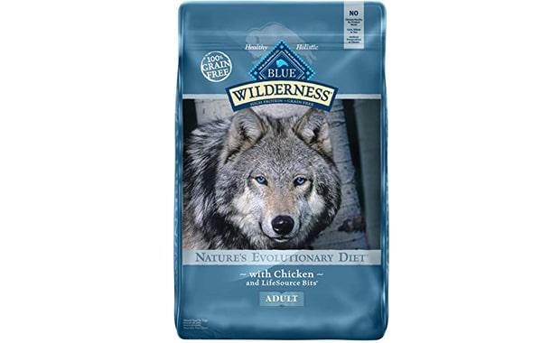 Blue Buffalo High Protein Grain Free, Dry Dog Food