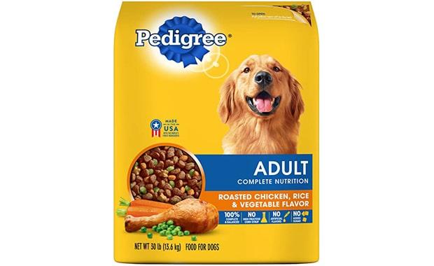Pedigree Dry Dog Food- Grilled Steak and Vegetable Flavor
