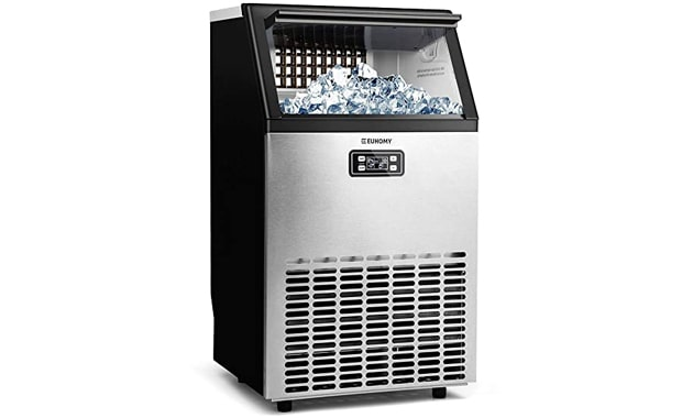 Euhomy Commercial Ice Maker Machine