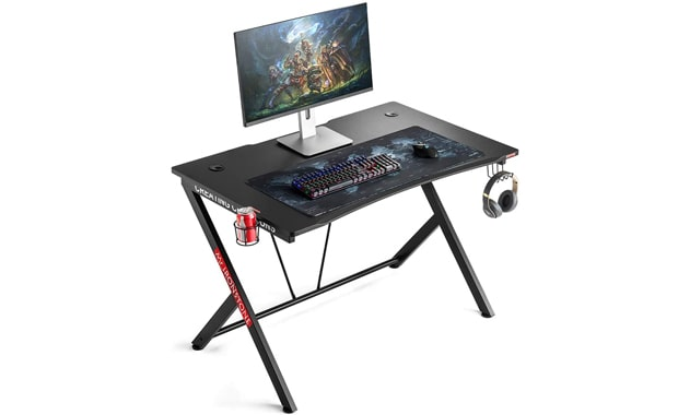 Mr IRONSTONE R-shaped Gaming Desk