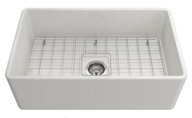 BOCCHI 1138-001-0120 30 in. Single Bowl Kitchen Sink