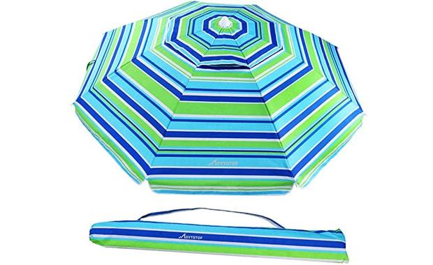 MOVTOTOP 6.5 Foot Patio Beach Umbrella