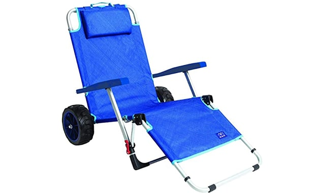 MacSports Foldable Beach Day Lounge Chair