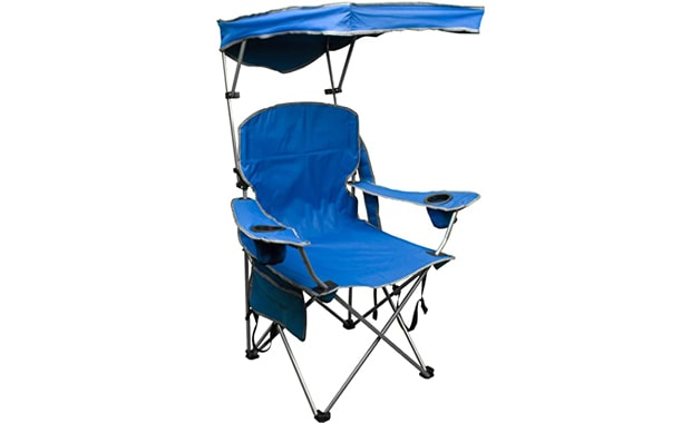 Quik Shade Canopy Folding Adjustable Camping Chair