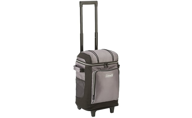 Coleman 42-Can Soft Cooler-With Remove Liner and Wheels