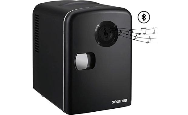 Gourmia Thermoelectric GMF668 Black 6 Can/4 Liter Mini Fridge