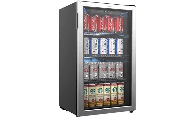 hOmeLabs Beverage Cooler & Refrigerator