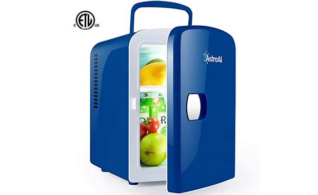 AstroAI 6 Can/4 Liter Portable Thermoelectric System Mini Fridge