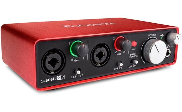 Focusrite Scarlett 2nd Gen USB 2i2 Audio Interface