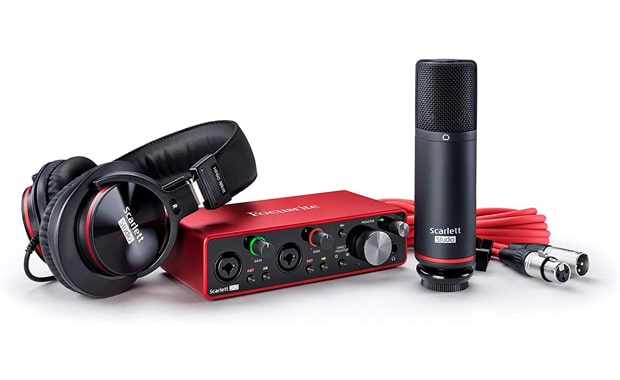 Focusrite Scarlett 3rd Gen 2i2 USB Studio Audio Interface
