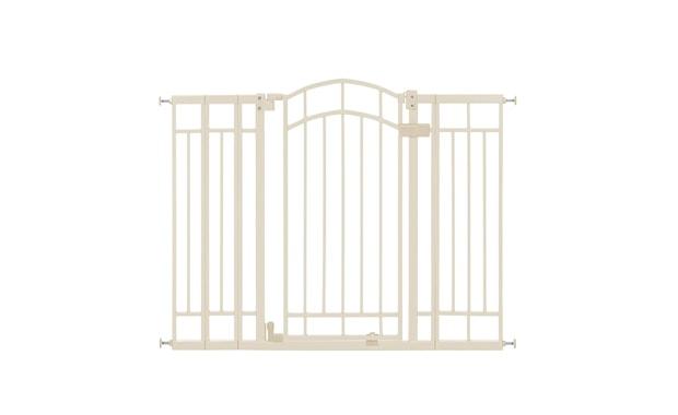 Summer Multi-Use Deco Extra Tall Walk-Thru Baby Gate-28.5-48 Inches (Beige)