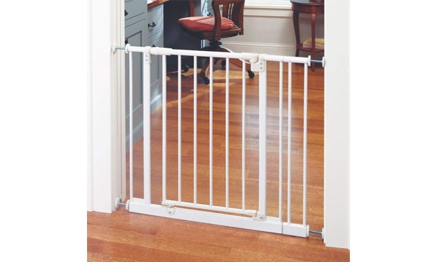Toddleroo by the North States 38.5 Inch Wide Easy-Close Baby Gate