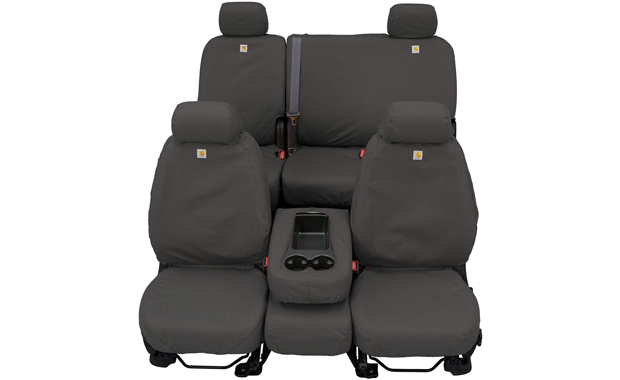 Covercraft Carhartt SeatSaver SSC2509CAGY Custom Fit Front Row Seat Cover