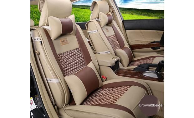 Amooca Front Rear Universal VTI Car Seat Cover