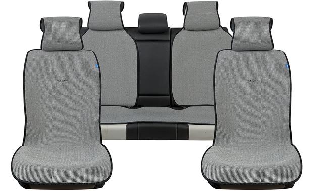 Sojoy 4 Seasons Universal Car Full Set Seat Cover