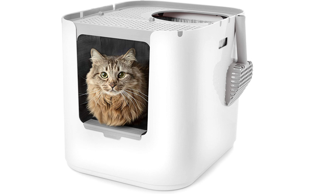 Modkat XL-Litter Box-Top or Front Entry with Scoop and Liner
