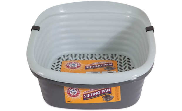 Pet Mate Arm and Hammer-Large Sifting Cat Litter Pan