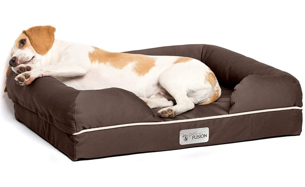 PetFusion-Ultimate Dog Bed-CertiPUR-US Orthopedic Memory Foam