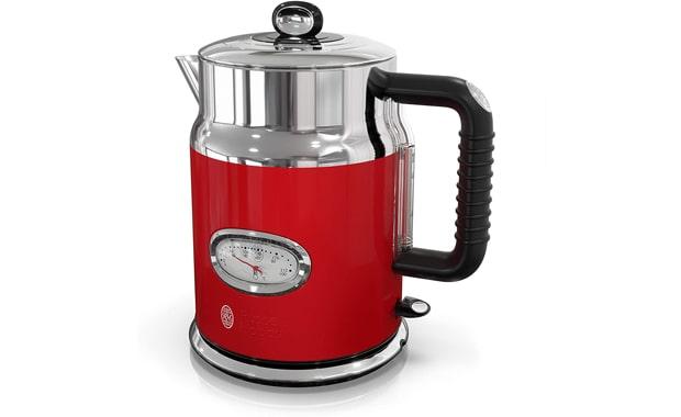 Russell Hobbs Retro Style KE5550RDR 1.7 Liter Electric Kettle
