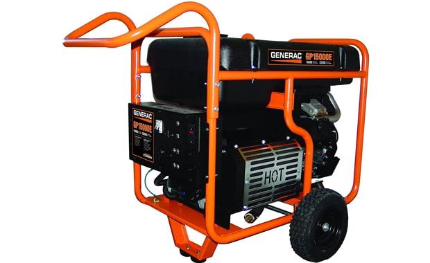 Generac 5734 Gas Powered GP15000E Portable Generator
