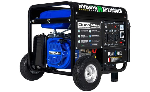 DuroMax Dual Fuel XP12000EH 18-HP Electric Portable Generator