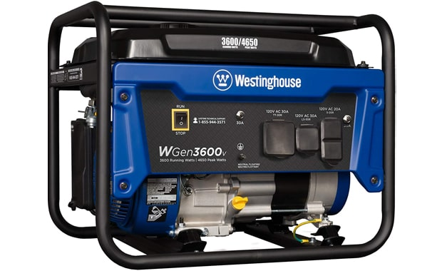Westinghouse Gas Powered WGen3600v CARB Compliant Portable Generator