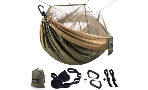 Sunyear Double & Single Camping Hammock