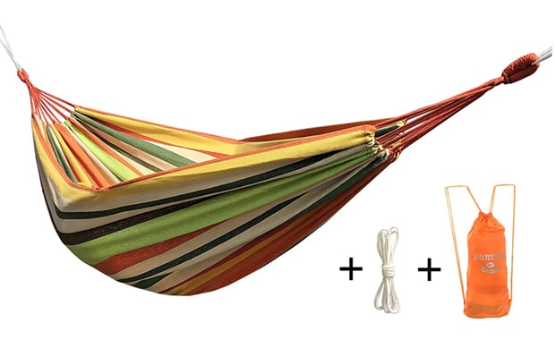 Honesh 2 Person Outdoor Leisure Double Camping Hammock
