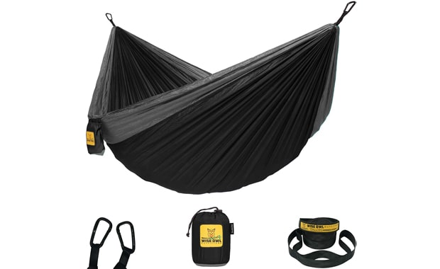Wise Owl Single & Double Outfitters Camping Hammock