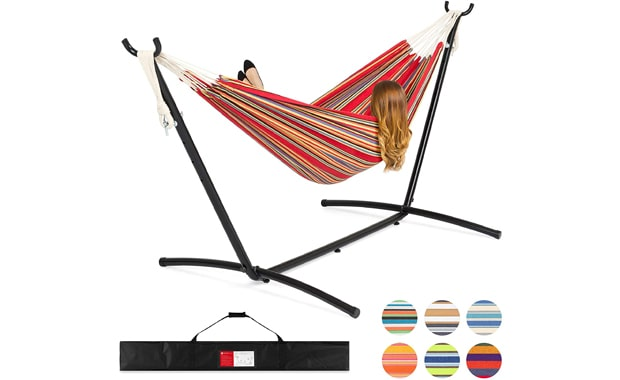 Double Hammock from Best Choice Products with Carrying Case