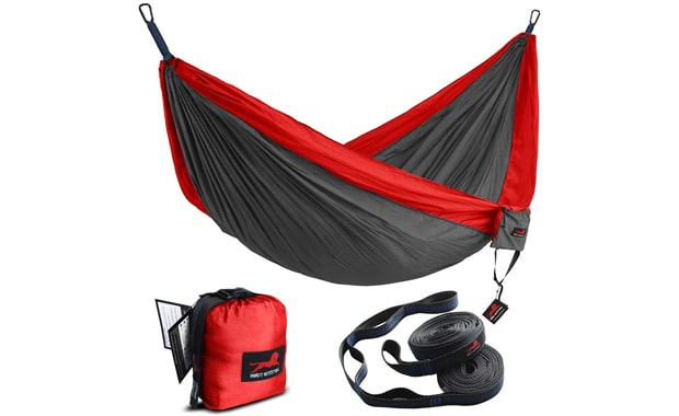 HONEST OUTFITTERS Portable Parachute Camping Single Hammock