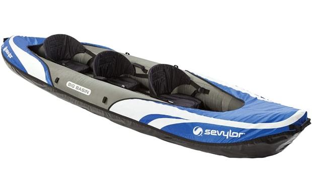 Sevylor 3-Person Big Basin Kayak