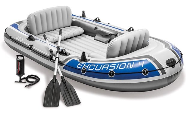 Intex Excursion Inflatable 4-Person Kayak
