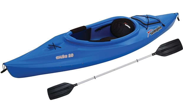 Sun Dolphin 10-Foot Aruba Sit-in 10 Feet Kayak