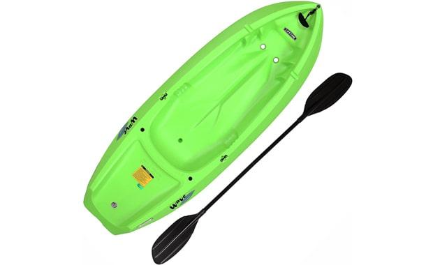 Lifetime 6 Feet Youth Wave Green Kayak