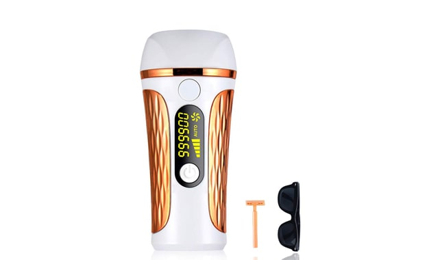 MEBAO 999900 Flashes Body & Facial Hair Removal Laser for Women